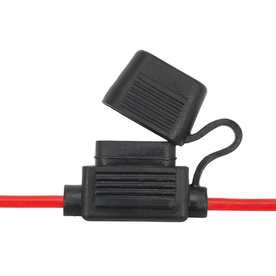 6 Way Side Entry Fuse Box For Blade Type 0 234 26 K S Mckenzie Types Of Boxes Standard Holder Splashproof 20amp Pack 10