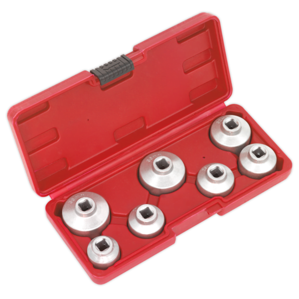 Oil Filter Cap Wrench Set 7pc